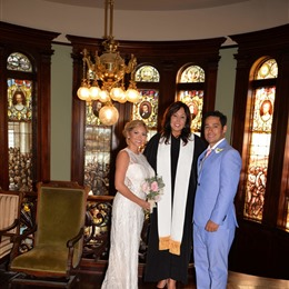 Mary Gehr, Wedding Officiant