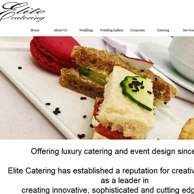 Elite Catering wedding vendor preview