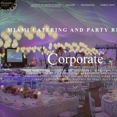 Alexander Event Catering wedding vendor preview