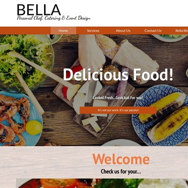 Bella Personal Chef Catering and Event Design wedding vendor preview