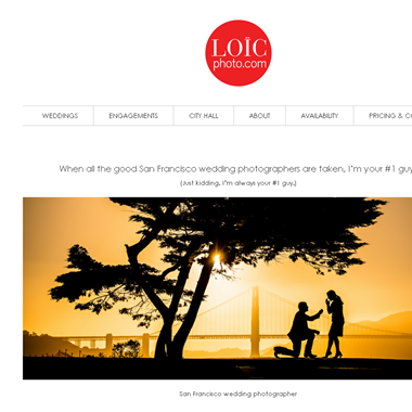 Loic Nicolas Photography LLC  wedding vendor preview