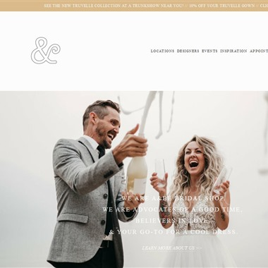 a and be bridal shop miami wedding vendor preview