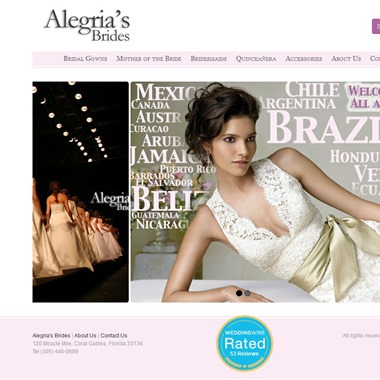 Alegria's Brides wedding vendor preview