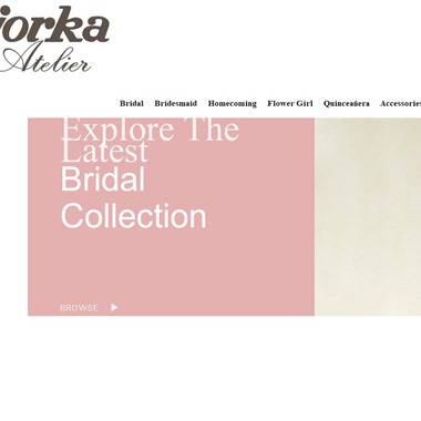 Jorka Atelier wedding vendor preview