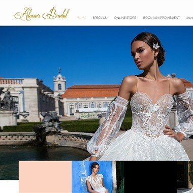 Alessa's Bridal wedding vendor preview
