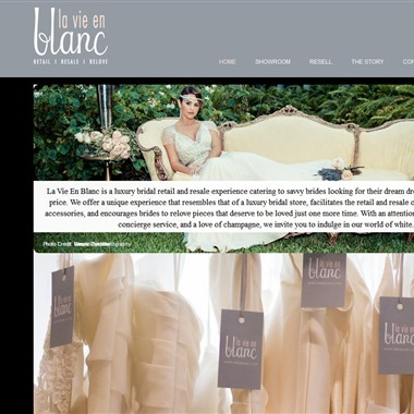 La Vie En Blanc wedding vendor preview