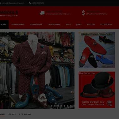 Rasools Menswear wedding vendor preview