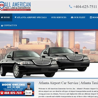 All American Limousine Services Inc wedding vendor preview
