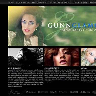 Gunn Glamour Studio wedding vendor preview