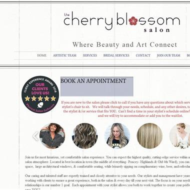 The Cherry Blossom Salon wedding vendor preview