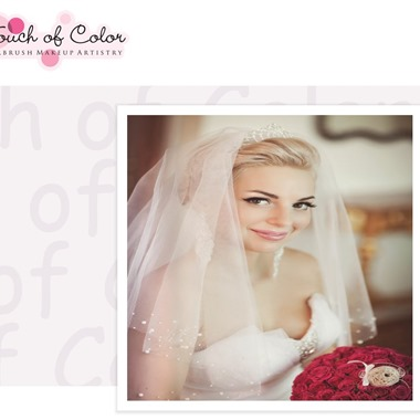 Touch of Color Airbrush Makeup Artistry wedding vendor preview
