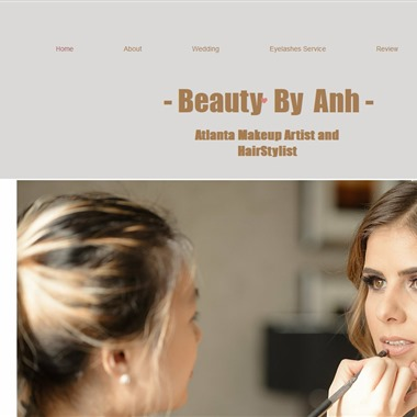 Beauty By Anh wedding vendor preview