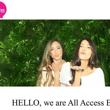All Access Booth wedding vendor preview