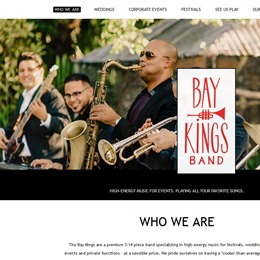 Photo of Baykings Band, a wedding musician in Miami