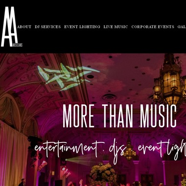 AA Musicians wedding vendor preview