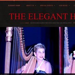 Photo of Florida Harpists Esther & AnnaLisa , a wedding musician in Miami