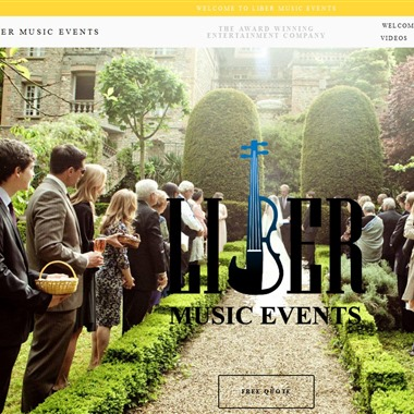 Liber Music Events wedding vendor preview