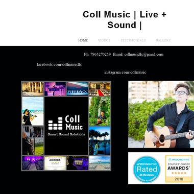 Coll Music LL wedding vendor preview