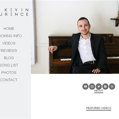Kevin Laurence Pianist wedding vendor preview