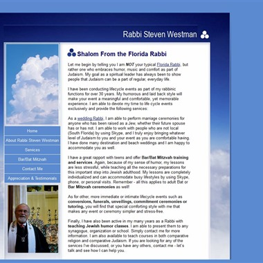 Rabbi Westman wedding vendor preview