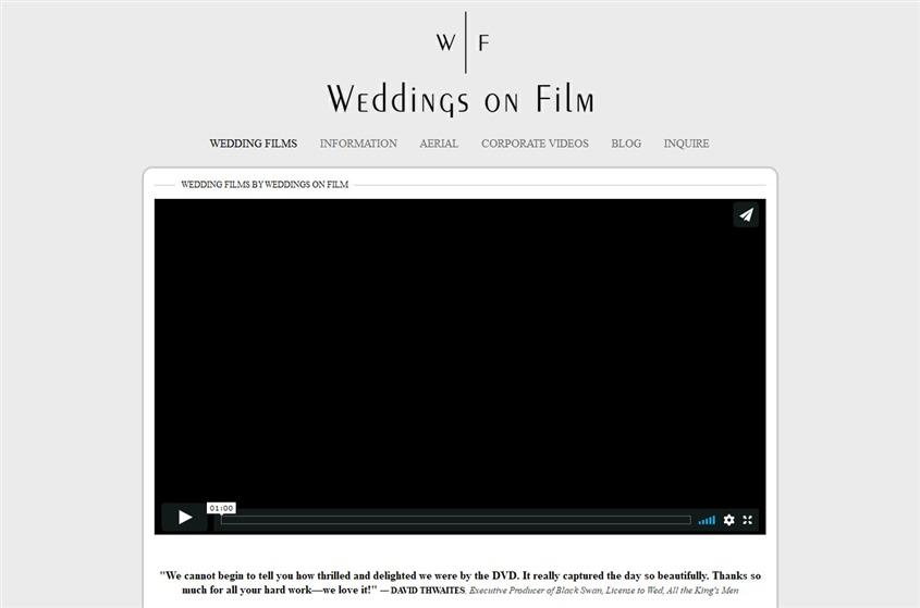 Wedding on Film wedding vendor photo