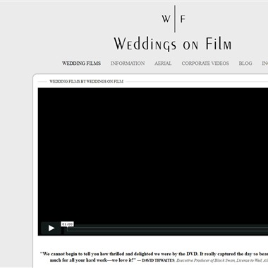 Wedding on Film wedding vendor preview