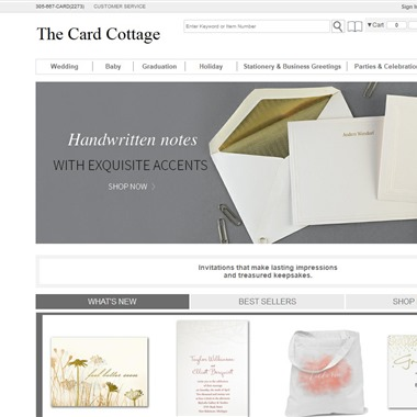 The Card Cottage wedding vendor preview