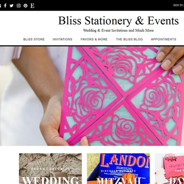 Stationery Bliss wedding vendor preview