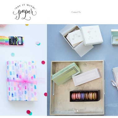 Say It With Paper wedding vendor preview