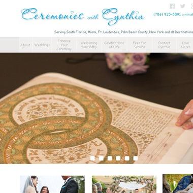 Ceremonies with Cynthia wedding vendor preview