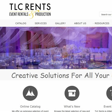 TLC Rents wedding vendor preview
