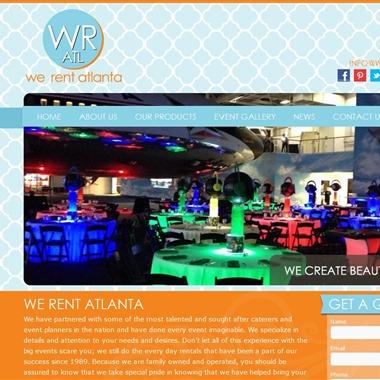 We Rent Atlanta wedding vendor preview