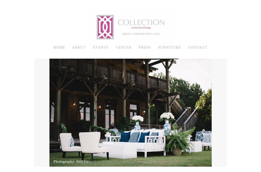 Collection Event Furnishings wedding vendor photo