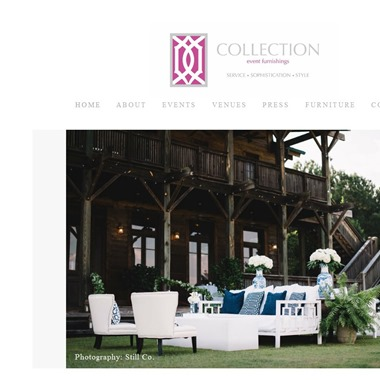 Collection Event Furnishings wedding vendor preview