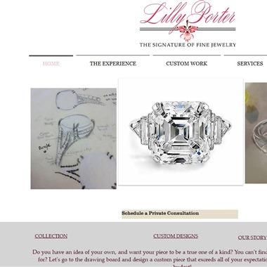 Lilly Porter Fine Jewelry wedding vendor preview