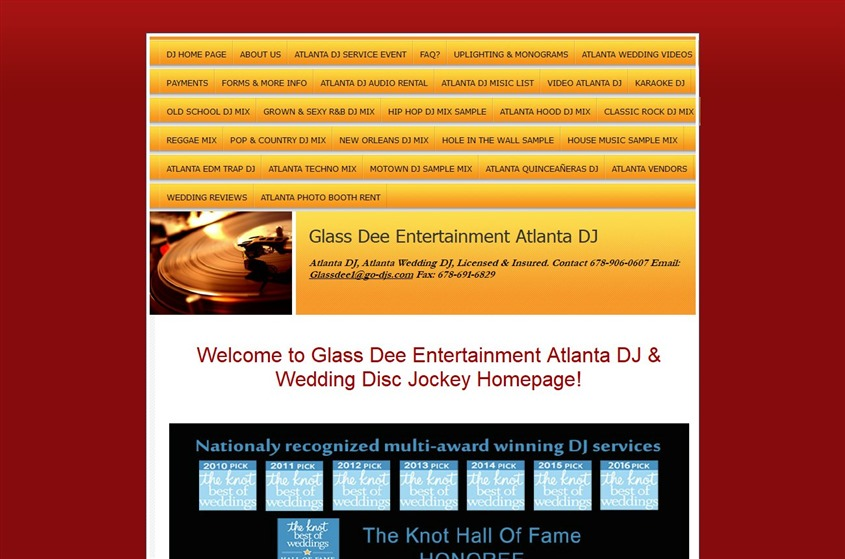 Glass Dee Entertainment wedding vendor photo