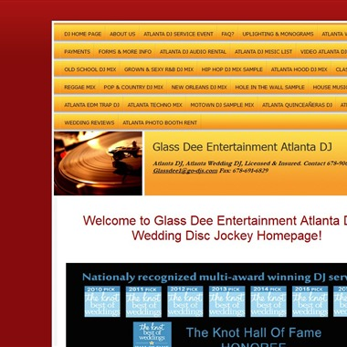 Glass Dee Entertainment wedding vendor preview