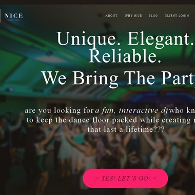 Nice Entertainment wedding vendor preview