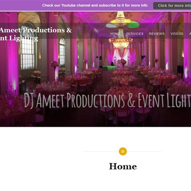 DJ Ameet wedding vendor preview