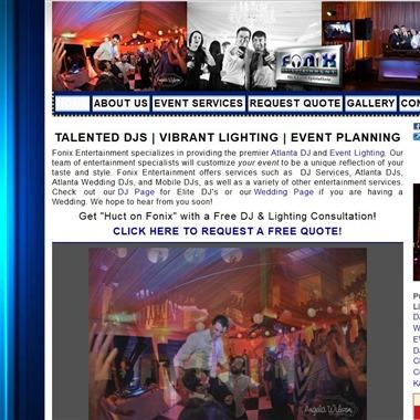Fonix Entertainment wedding vendor preview