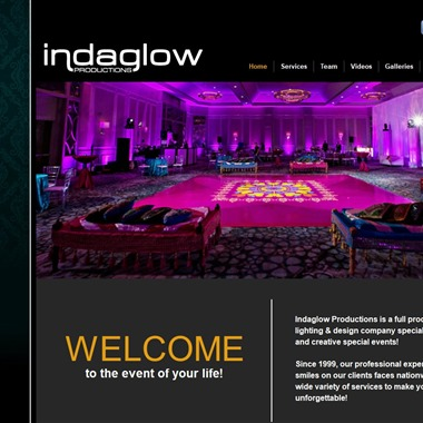 Indaglow Productions wedding vendor preview