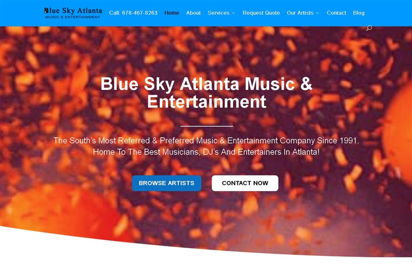 Blue Sky Atlanta Music & Entertainment wedding vendor photo