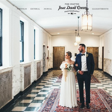 Jesse David Green wedding vendor preview