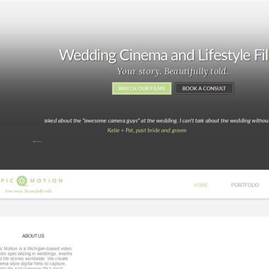 Epic Motion wedding vendor preview