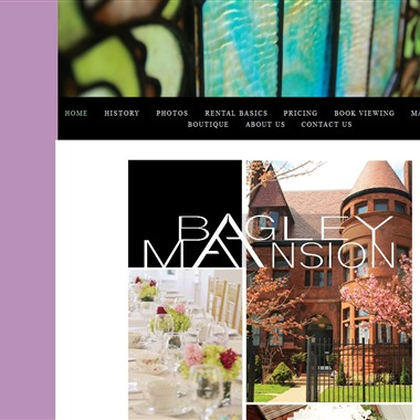 The Bagley Mansion wedding vendor preview