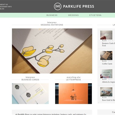 Parklife Press wedding vendor preview
