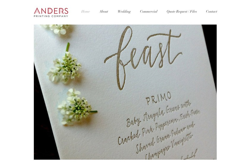 Anders Printing Co wedding vendor photo