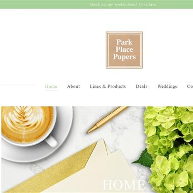 Park Place Papers wedding vendor preview