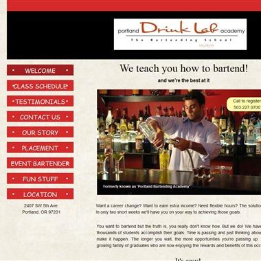 Portland Drink Lab Academy wedding vendor preview