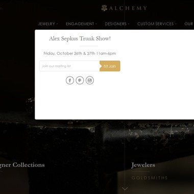 Alchemy Jeweler wedding vendor preview